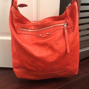 Balenciaga Orange crossbody